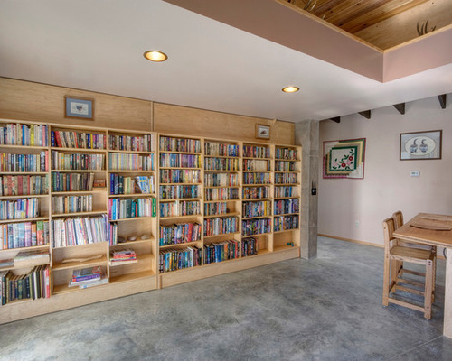 SaveEmail - Closed Bookcase Houzz