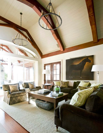 Family Room by Westbrook Interiors