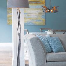 Contemporary Family Room by Barbara Schaver @ Furnitureland South