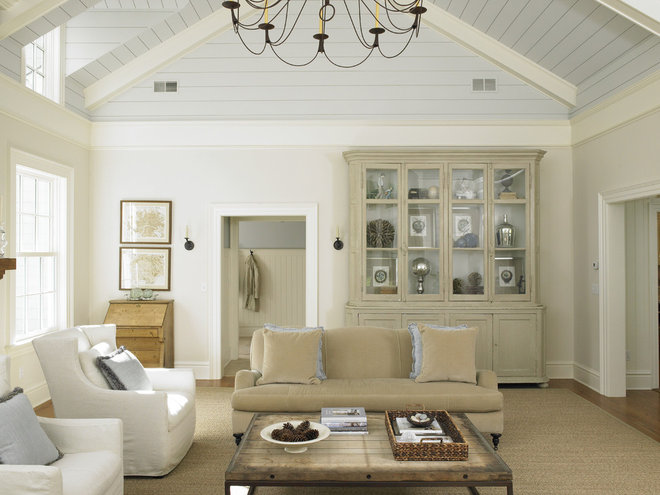 Traditional Family Room by Huestis Tucker Architects, LLC