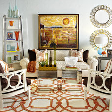 Eclectic Family Room by IBB Design Fine Furnishings