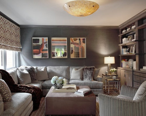Cozy Family Room Houzz