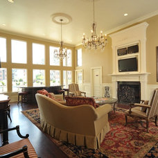 Traditional Family Room by Causa Design Group