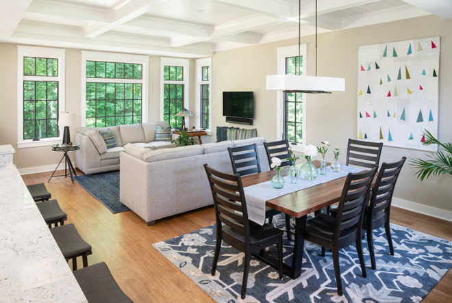 Traditional Family Room by Meadowlark Design+Build