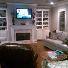 Traditional Family Room by Barnett Furniture