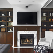 Traditional Family Room by Palmerston Design Consultants