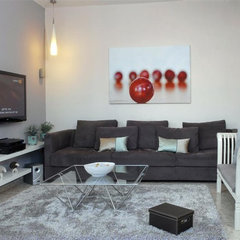 contemporary family room by Eran Turgeman - Photographer