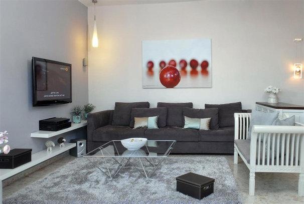 Contemporary Family Room by Eran Turgeman - Photographer