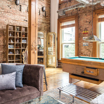 Industrial Family Room