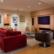 Contemporary Family Room by Walbrandt Technologies