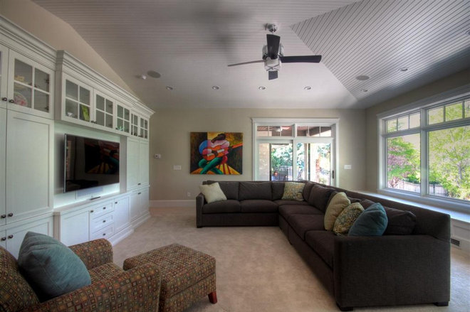 Contemporary Family Room by Renovation Design Group