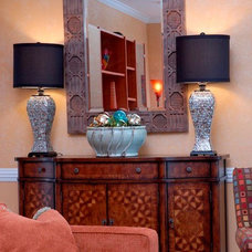 Eclectic Family Room by Fresh Perspective Design & Decor, LLC