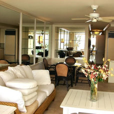 Tropical Family Room by Steady Hand Painting Professionals