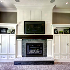 Traditional Family Room by Photos By Kaity