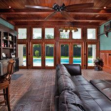 Traditional Family Room by Jonathan McGrath Construction, LLC