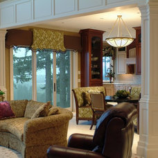 Traditional Family Room by Interior Spaces