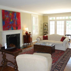 Eclectic Family Room by Mandi Smith T Interiors