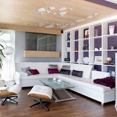 Contemporary Family Room by SVOYA studio