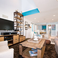 Contemporary Family Room by Incite Photography
