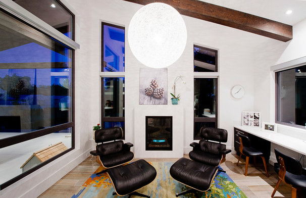 Modern Family Room by Revival Arts   Architectural Photography