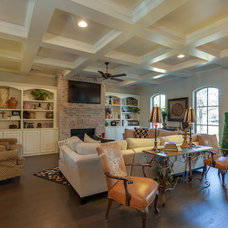 Traditional Family Room by Bud Bartley Custom Homes