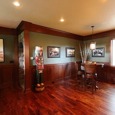 Traditional Family Room by Vance Vetter Homes