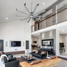 Contemporary Family Room by Big Ass Fans