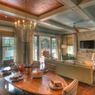 Isle of Palms Modern Cottage Family Room