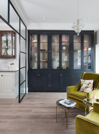 Transitional Family & Games Room by Woodale