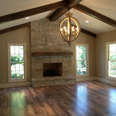 Traditional Family Room by Jeffrey Homes LLC