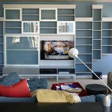 Modern Family Room by California Closets Colorado