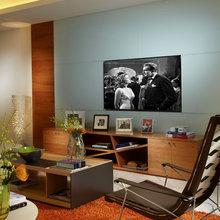Wall Units - Entertainment Center Home Theater - Modern Miami Design