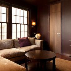 Contemporary Family Room by De Meza + Architecture