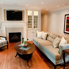 Family Room by Jacqui Loucks Interior Concepts