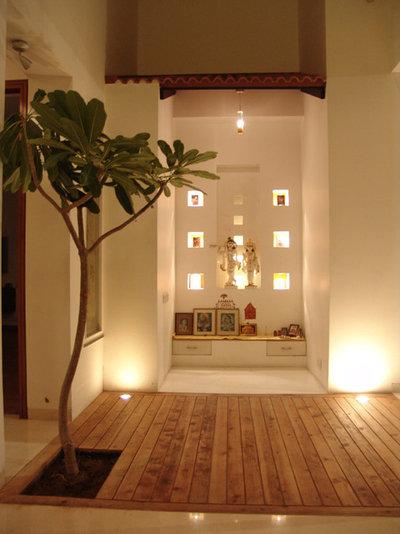 Contemporary Family Room by Anil Dube Architect
