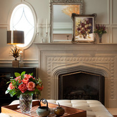 traditional family room by jamesthomas, LLC
