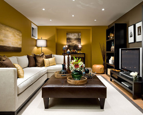 Houzz Basement Family Room Design Ideas Amp Remodel Pictures