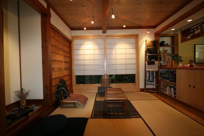 Asian Family Room by Ashford Associates