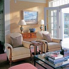 Traditional Family Room by JBM DESIGNS LLC
