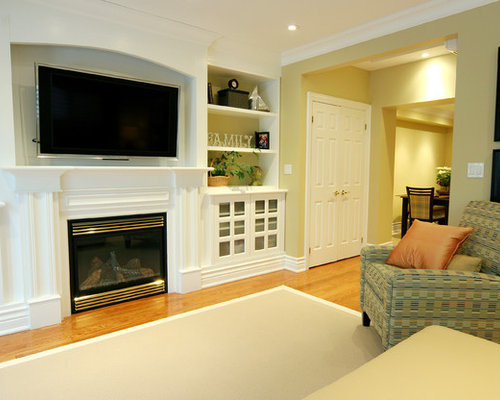 Tv Over Fireplace Ideas Pictures Remodel And Decor