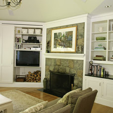 Eclectic Family Room by Jennifer Russo
