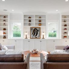 Craftsman Family Room by JIM ARNAL, REALTOR / Hasson Company Realtors