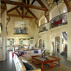 Traditional Family Room by John Lively & Associates