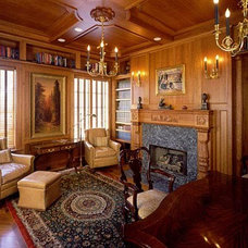 Traditional Family Room by JMA (Jim Murphy and Associates)