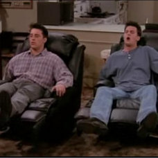 Family Room Joey and Chandler