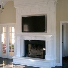 Traditional Family Room by John W. Sliva Design & Build, LLC.