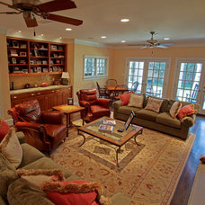 Traditional Family Room by Key Residential