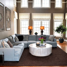 Family Room JWS Interiors LLC