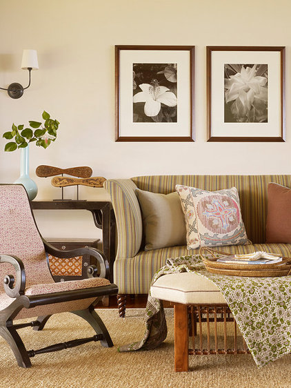 Tropical Family Room by GM Construction, Inc.
