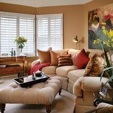 Family Room by KARLA TRINCANELLO-CID - INTERIOR DECISIONS, INC.